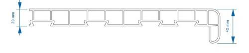 parapety PVC