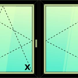 okno dvoj. / O - OS /