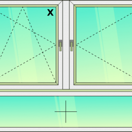 okno zvis.troj./ OS- O - FIX /