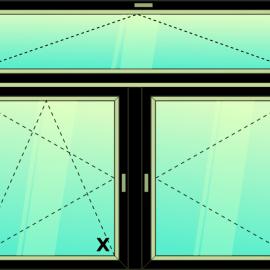 okno zvis.troj. / S - OS -O /