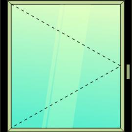 okno jednokrídlové / O /