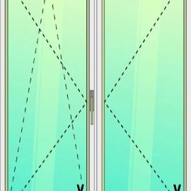 balkónové dvere / OS - O /