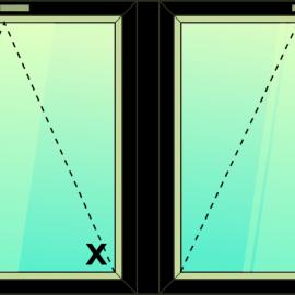 okno dvoj. / S - S /