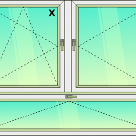 okno zvis.troj. / OS - O - S /