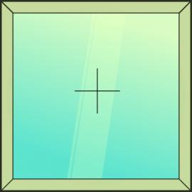 okno jednodielne / F /